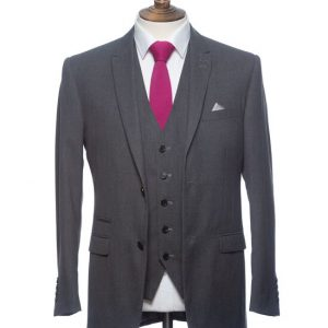 Benetti, dark Grey 3-piece