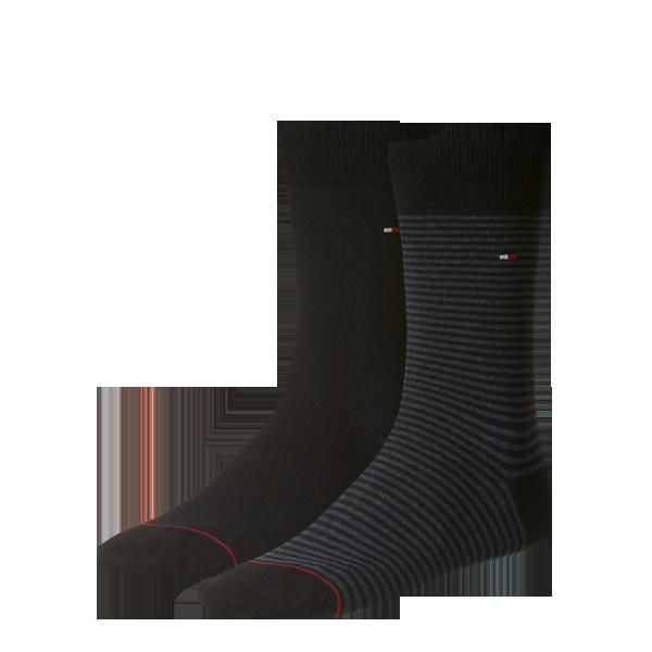 Tommy Hilfiger, Black/Black and Grey stripe