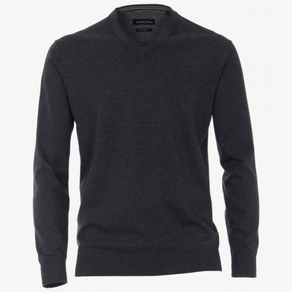Casa Moda V neck Dark Grey 772