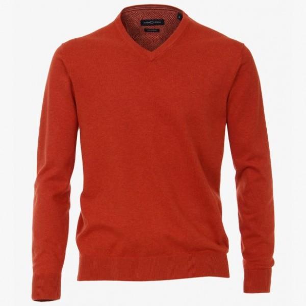 Casa Moda V neck Dark Orange 486