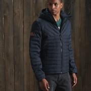Tweed Mix Fuji Jacket Navy