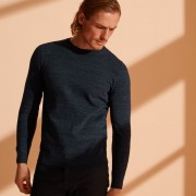 ol crew jumper nightwatch navy marl 1