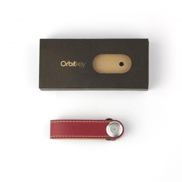 Orbitkey, Red with White stitch