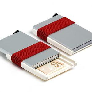 Secrid, Silver/Red