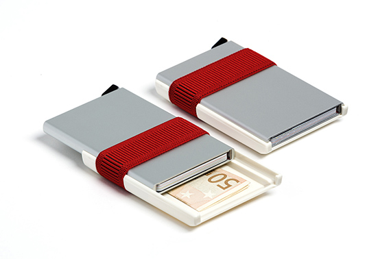 Secrid, Silver/Red