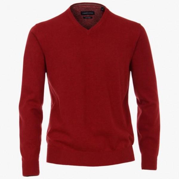 Casa Moda V neck Medium Red 436