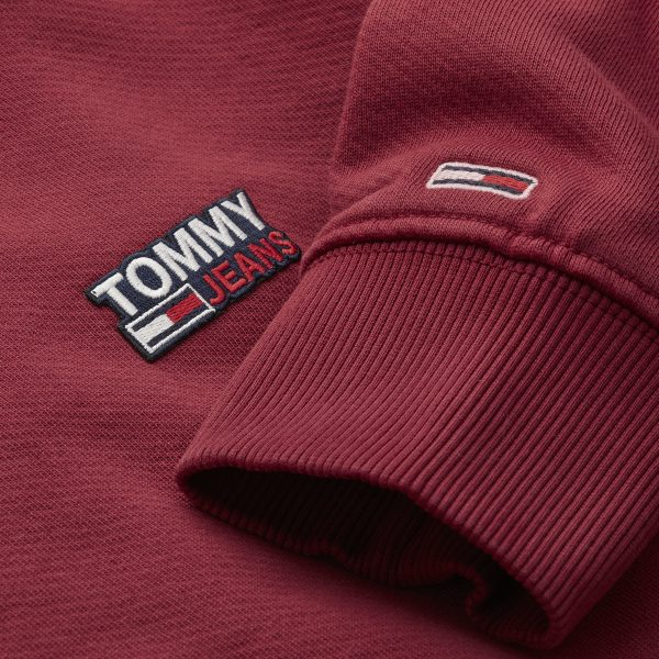 TJM Washed Corp Logo Crew