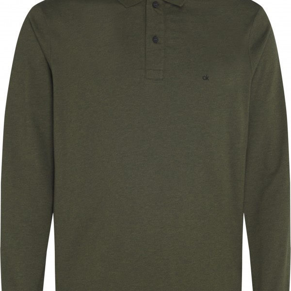 Ck Long Sleeve Polo