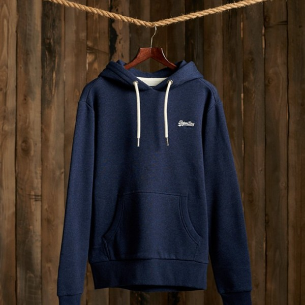 OL Classic Hoodie Midnight Blue Grit