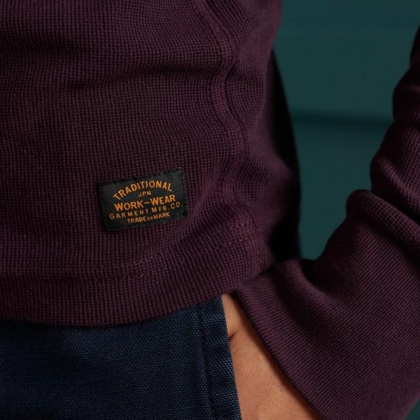 Micro Texture Henley 3