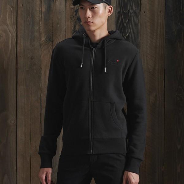 OL zip black